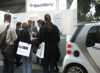 Blackberry Messeaktion & Promotion
